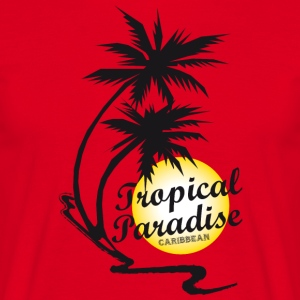 Tropical Paradise - T-shirt Homme