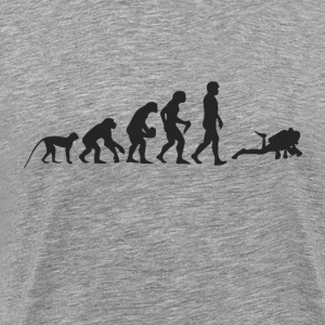 Evolution divers T-Shirts - Men's Premium T-Shirt