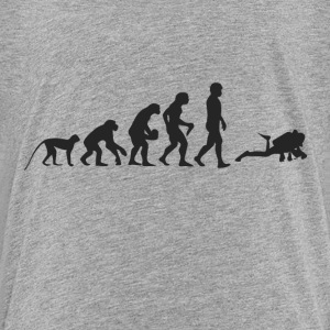 Evolution divers Shirts - Teenage Premium T-Shirt