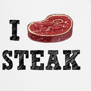 I Love Steak  Aprons - Cooking Apron