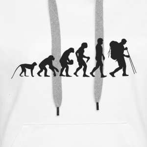 Evolution hiking Hoodies & Sweatshirts - Women's Premium Hoodie