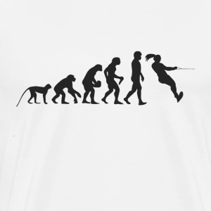 Evolution vandski T-shirts - Herre premium T-shirt