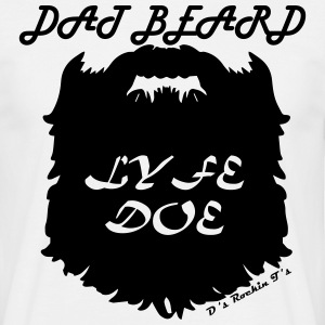 MENS Dat Beard Lyfe Doe t-shirt - Men's T-Shirt