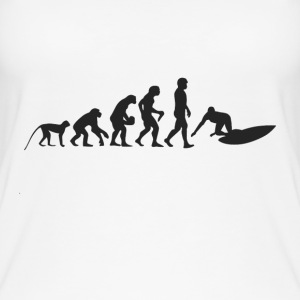 Surf evolution Tops - Women's Organic Tank Top