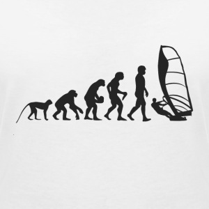 Evolution Windsurfing T-Shirts - Women's V-Neck T-Shirt