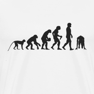 Evolution race T-shirts - Herre premium T-shirt