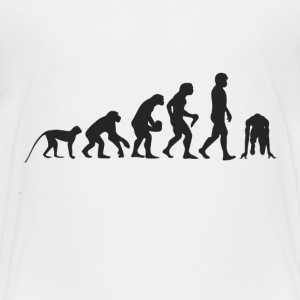Evolution race T-shirts - Teenager premium T-shirt