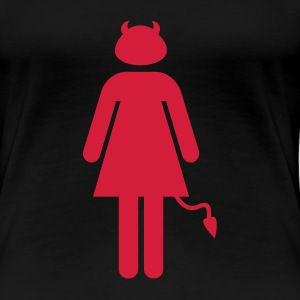 Devil Woman - Frauen Premium T-Shirt
