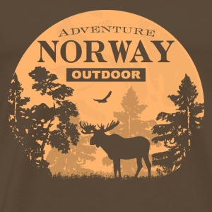 Moose - Norway Adventure T-Shirts - Männer Premium T-Shirt