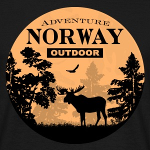 Moose - Norway Adventure T-Shirts - Männer T-Shirt