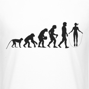 Evolution Seilspringen Tee shirts - T-shirt long homme