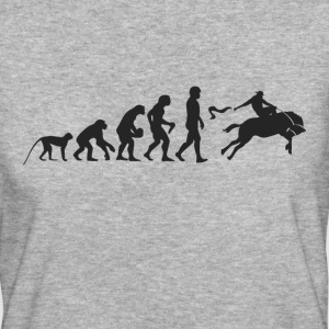 Evolution Rodeo T-Shirts - Frauen Bio-T-Shirt