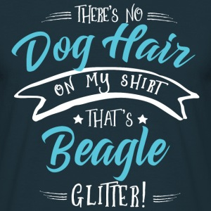 Glitter Beagle T-Shirts - Men's T-Shirt