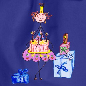 Birthday Princess Bags & Backpacks - Drawstring Bag