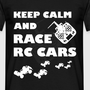 Keep calm and race RC Car - Men's T-Shirt