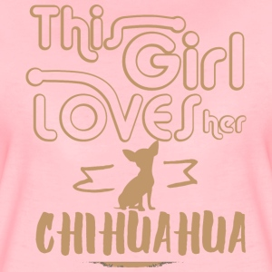 This girl loves her Chihuahua T-Shirts - Women's Premium T-Shirt