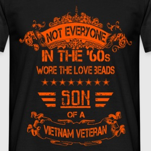 Not everyone in the 60's wore the love beads. Son  - Men's T-Shirt