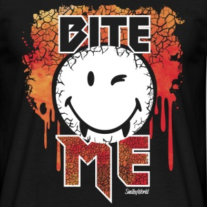 SmileyWorld Vampire Smiley - Männer T-Shirt