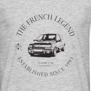RENAULT CLIO WILLIAMS FRENCH CAR - T-shirt Homme