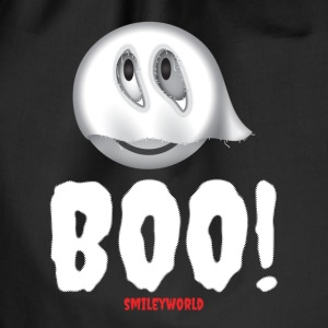 SmileyWorld Ghost Boo! - Drawstring Bag