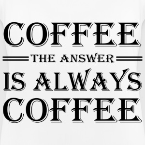Coffee! The answer is always coffee Vêtements Sport - Débardeur respirant Femme