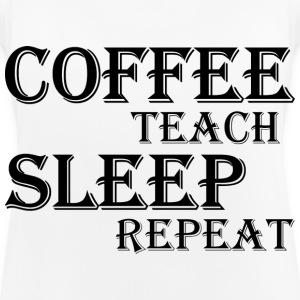 Coffee, teach, sleep, repeat Sports wear - Women's Breathable Tank Top