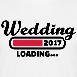 Wedding 2017 T-Shirts - Männer T-Shirt