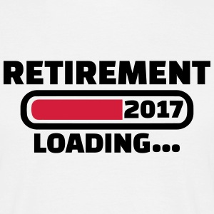 Retirement 2017 T-Shirts - Männer T-Shirt