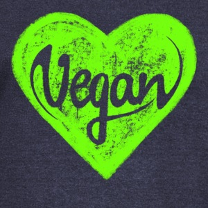 Vegan - a heart for animals, protection, nature,   Sweaters - Vrouwen trui met U-hals van Bella