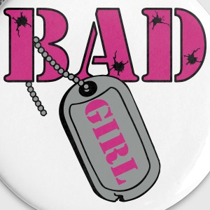 Bad Girl Fb Buttons & Anstecker - Buttons groß 56 mm