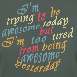 Trying to be Awesome! T-Shirts - Women's Organic T-shirt
