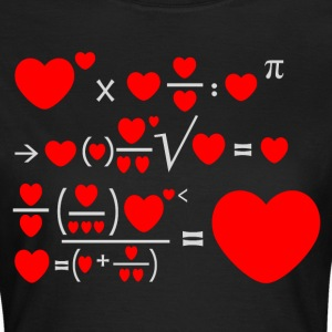 Mathematics of Love T-Shirts - Frauen T-Shirt