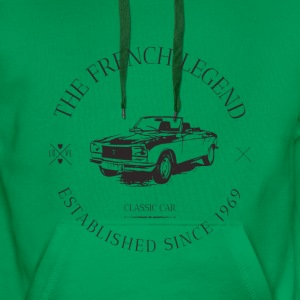 PEUGEOT 304 COUPE FRENCH CAR - Sweat-shirt à capuche Premium pour hommes