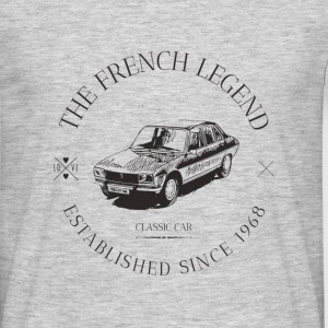 PEUGEOT 504 FRENCH CAR - T-shirt Homme