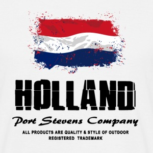 Holland Flag Logo T-Shirts - Männer T-Shirt