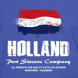 Holland Flag Logo T-Shirts - Männer Kontrast-T-Shirt