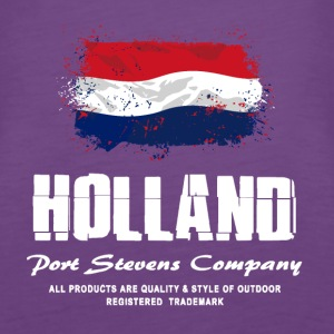 Holland Flag Logo Tops - Frauen Premium Tank Top