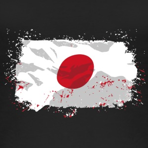 Japan Flag  Tops - Frauen Bio Tank Top