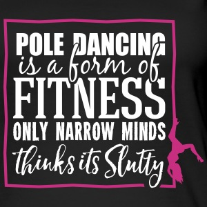 pole dancing is a form of fitness Topy - Ekologiczny top damski