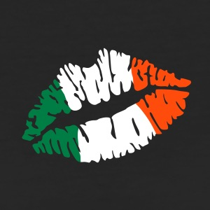 Irish flag lips T-Shirts - Women's Organic T-shirt