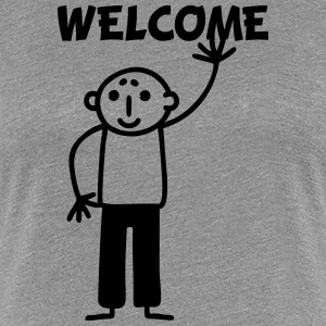 Opa welcome T-Shirts - Frauen Premium T-Shirt