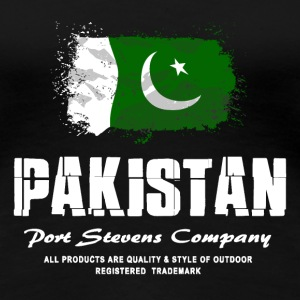 Pakistan Flag Logo T-Shirts - Frauen Premium T-Shirt