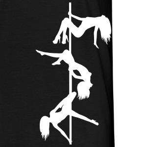 pole dance stripper JGA T-shirts - T-shirt herr