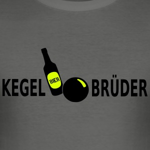 Kegeltour - Männer Slim Fit T-Shirt