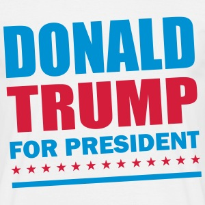 Donald Trump For President T-Shirts - Men's T-Shirt