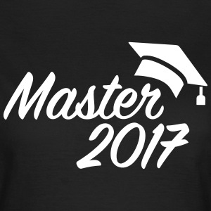 Master 2017 T-Shirts - Frauen T-Shirt