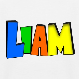 Liam Shirts - Kids' Baseball T-Shirt