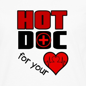 Hot Doc for your Heart Long sleeve shirts - Men's Premium Longsleeve Shirt