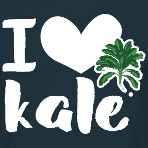 I love kale T-Shirts - Men's T-Shirt