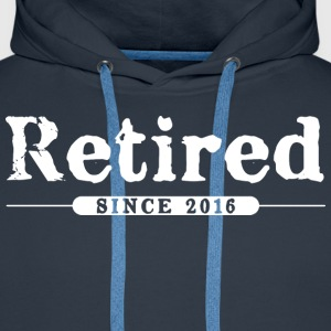 Retired since 2016 Hoodies & Sweatshirts - Men's Premium Hoodie
